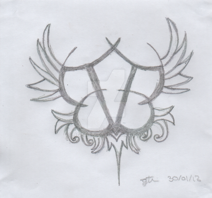 black veil brides logo by jgethin on deviantart