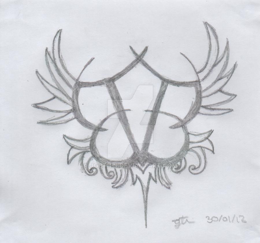 black veil brides logo by jgethin on deviantart