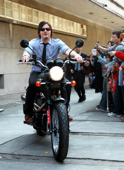 Norman ReedusMotorcycle By RebasTweeba