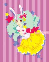 Starry Bunny by Ayumui