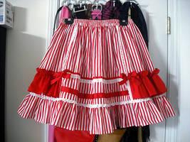 Candy Stripe skirt by Ayumui
