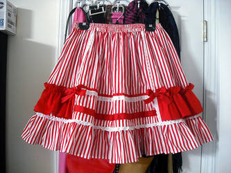 Candy Stripe skirt by Ayumui