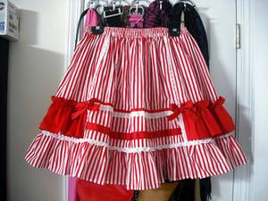 Candy Stripe skirt