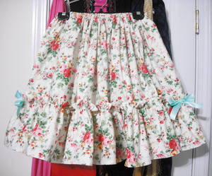 Classic Floral skirt- for sale