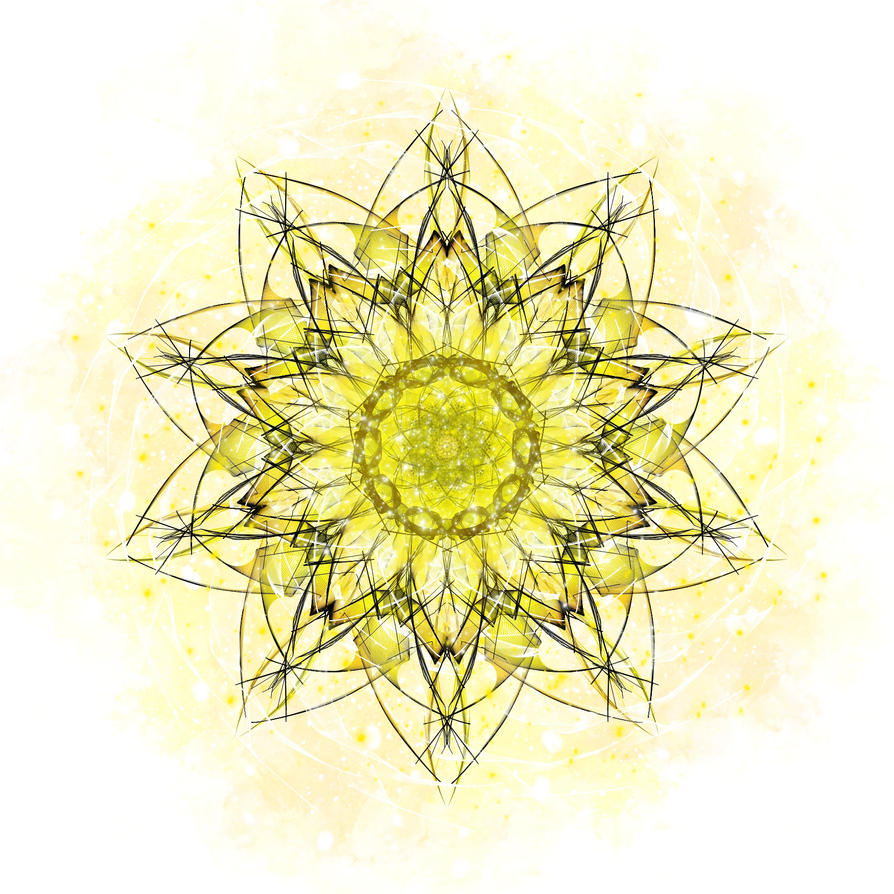 Fractled Thoughts: Solar Plexus Revisited by Romnil