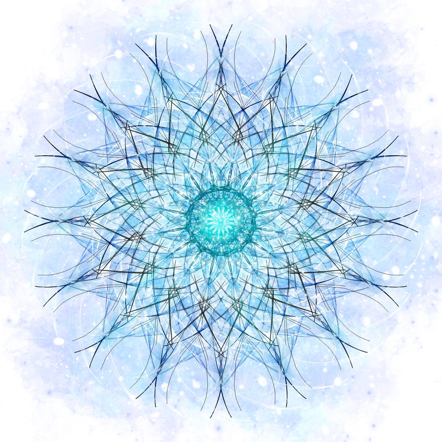 Fractaled Thoughts: Throat Chakra Revisited by Romnil