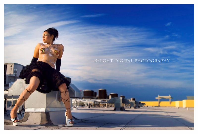 Strappy Heels by KnightDigital