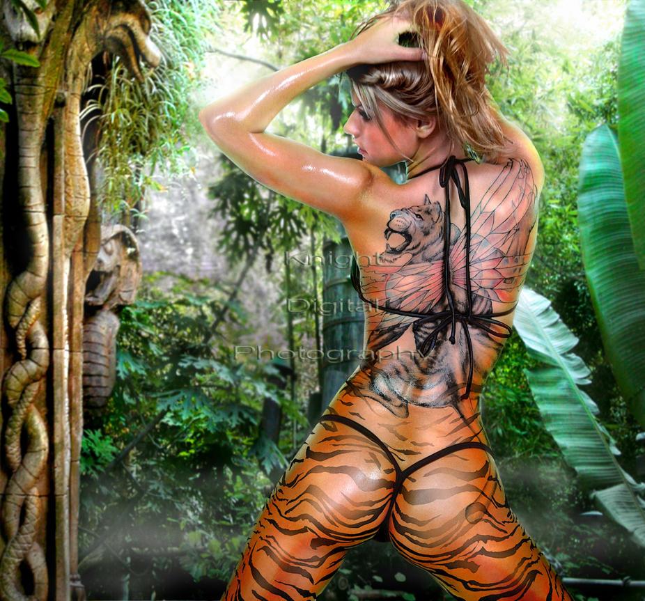 Jungle Goddess by KnightDigital