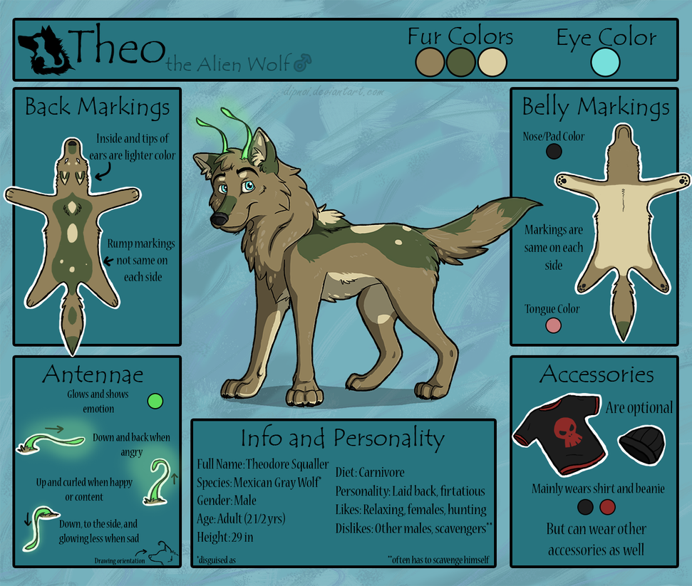Theo Reference Sheet by dipnoi