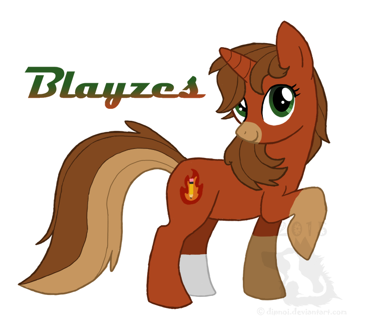 AT: Blayzes the Unicorn by dipnoi