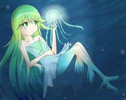 Girl of the Jellyfish by NekoSasukeGirl