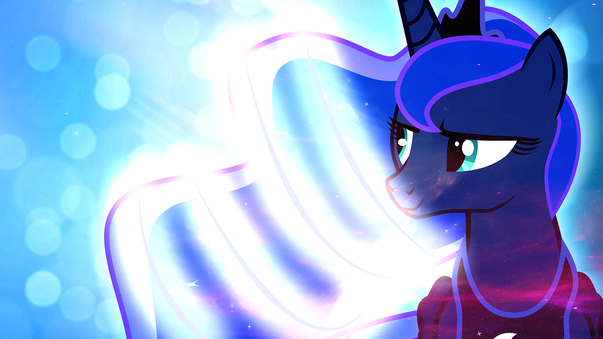 Luna again :3 by proffes