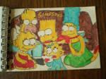 Very old Simpsons art