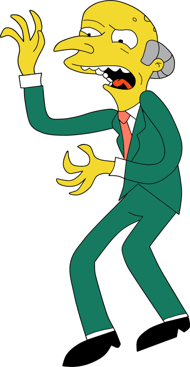 Mr. Burns by HeinousFlame