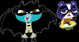 Batman and  Robin by HeinousFlame