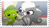 Vinnie x Pepper 2 Stamp by HeinousFlame