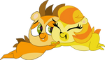 Honey x Russell by HeinousFlame