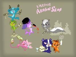 Drunken pets by HeinousFlame