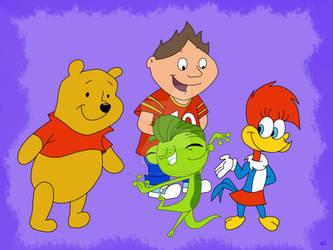 Vinnie, Winnie, Vinnie and Winnie by HeinousFlame