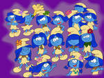 Smurfs girls