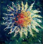 Abstract Sunflower by MunaMahmoud