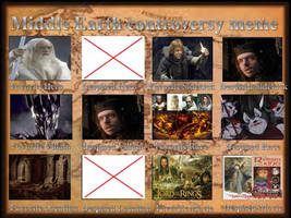 My Middle-Earth Controversy Meme