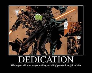 Dedication with Darth Vader