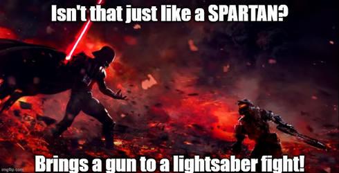 Darth Vader Vs. Master Chief
