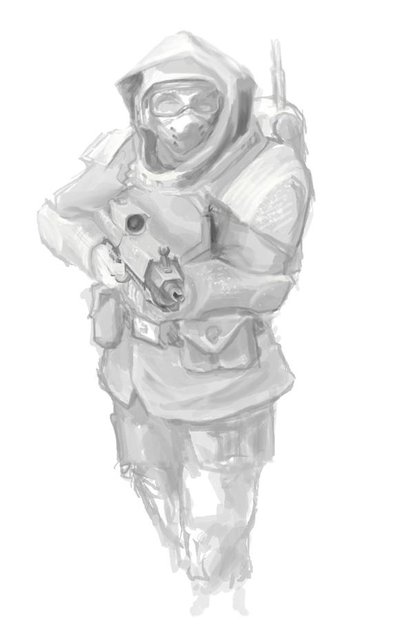 Winter warrior by dukeleto