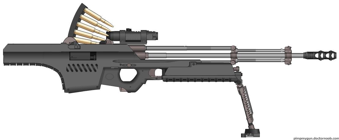 Foehammer AM rifle by dukeleto