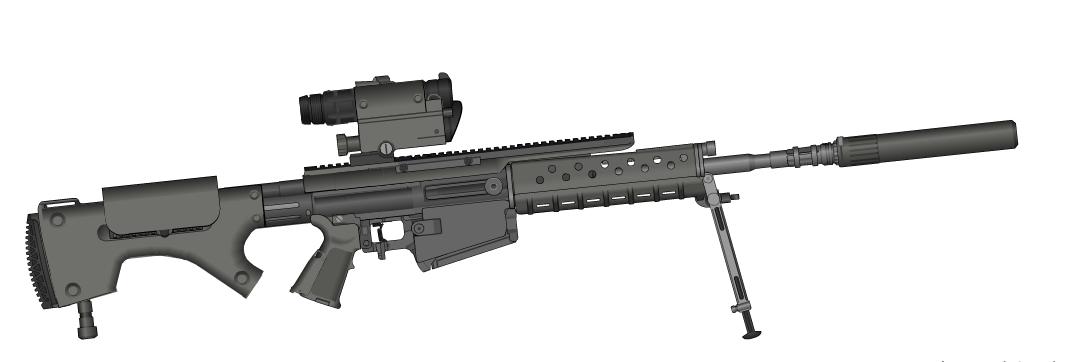 Fiacha Sharpshooter rifle by dukeleto