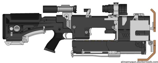 CEC Seeker rifle by dukeleto