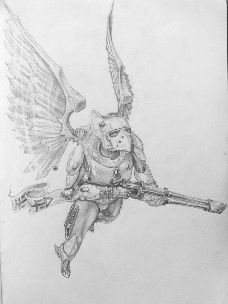 SwoopingHawk by dukeleto