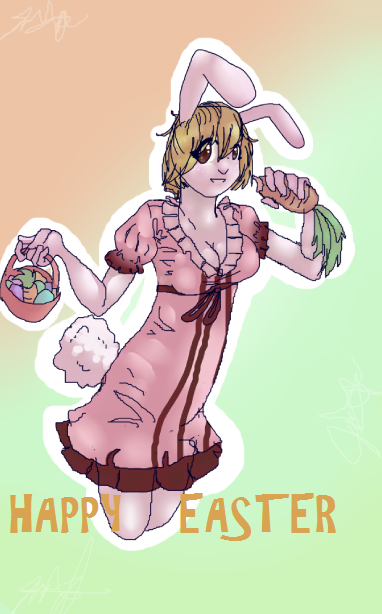 Carrot Onepiece by Tigerghosts