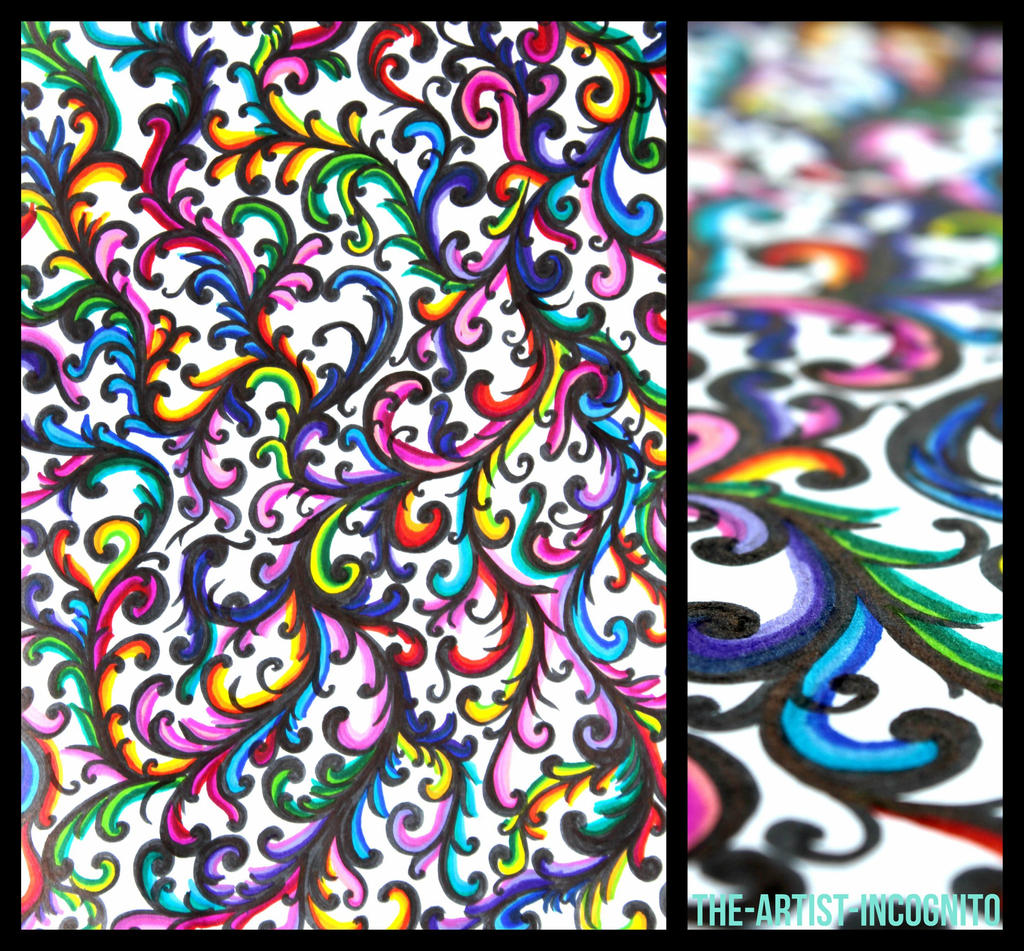 Notebook Doodles #9 - Swirly Patterns by The-Artist-Incognito