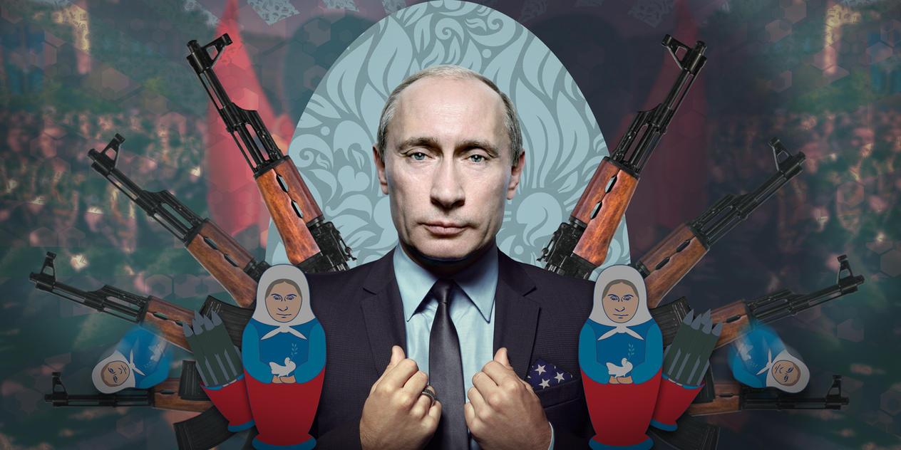 Vladimir Putin By Rohelion