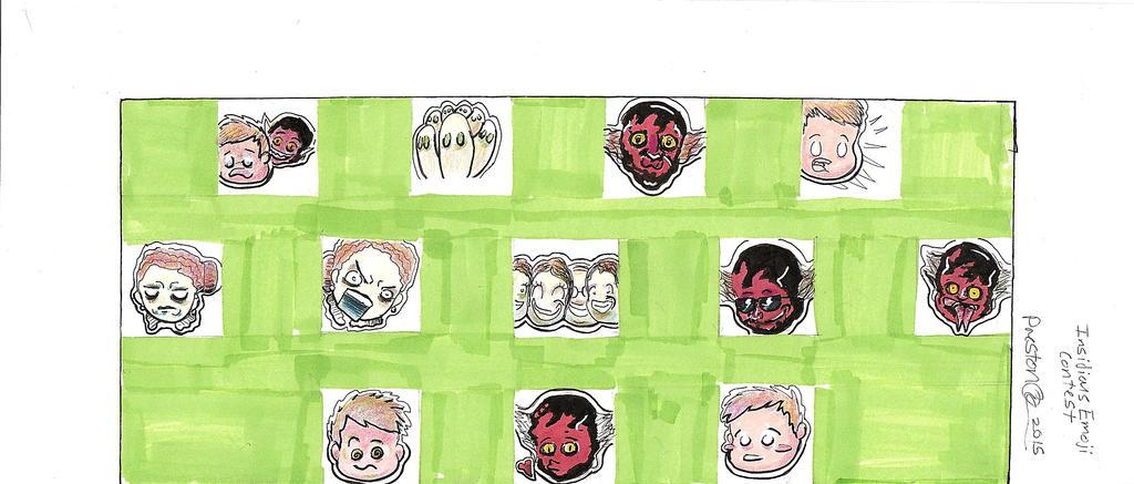 Insidious Emoji by Psychopen