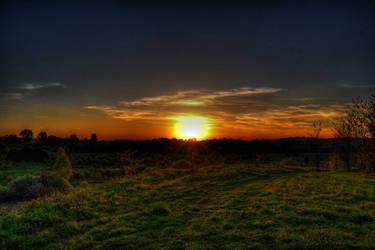 Sunset by osiolekpl