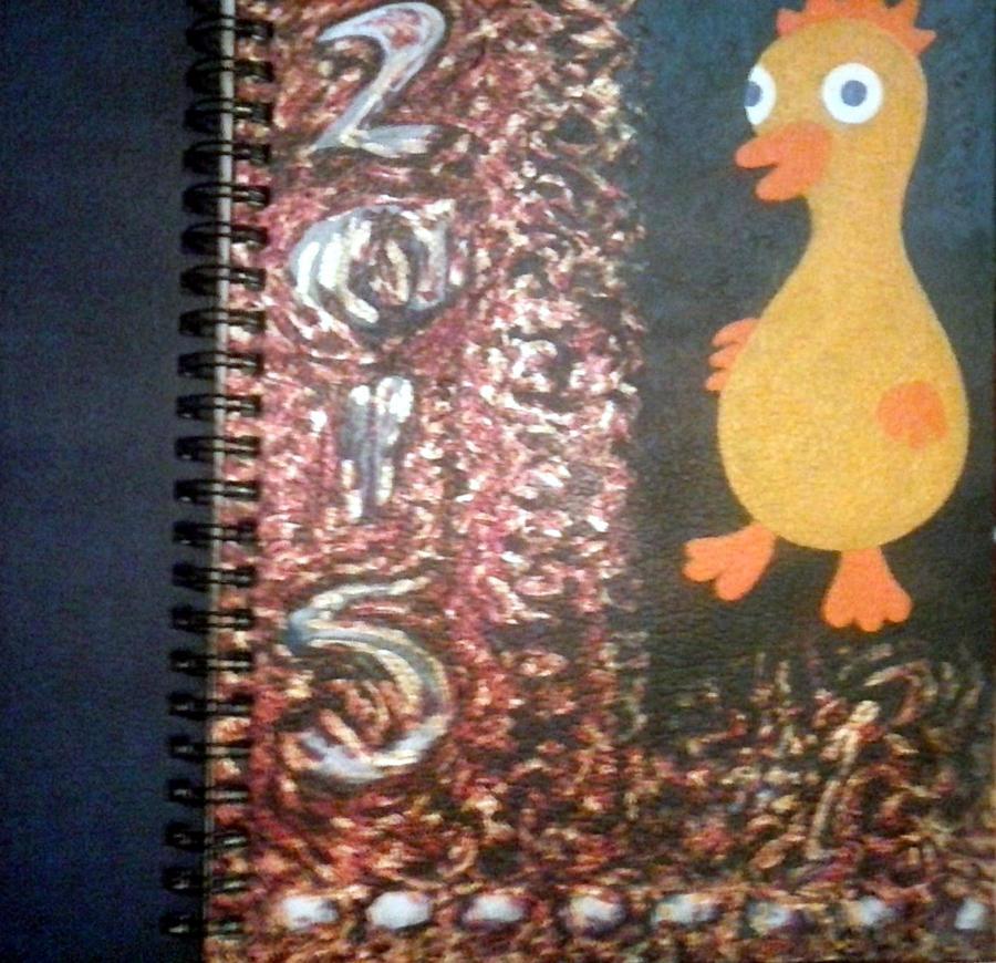 sketchbook cover by misterwackydoodle