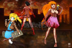 ::Contest Entry: Attack on PPG:: by XxStrawberryQueenxX
