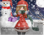 ::Contest Entry: Take the gift?:: by XxStrawberryQueenxX