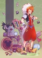 Sora Worlds! by EngerKlaux