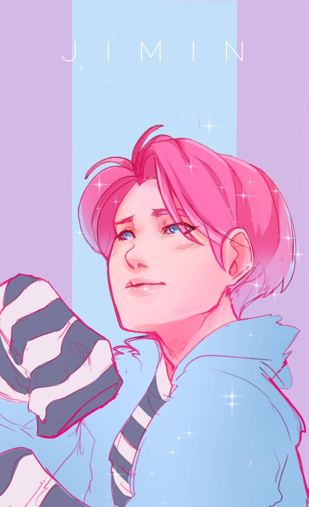 Bts Jimin By Engerklaux On Deviantart