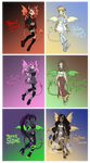 Cydamai Guest-Artist Adopts! (3/6) Prices Reduced!