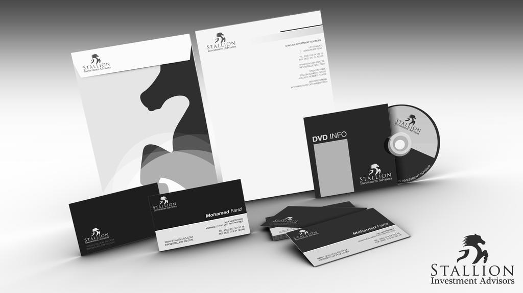 Stallion corporate identity by amtaha