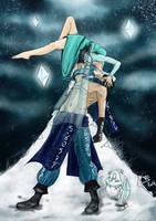 Syndra and Malzahar Frozen by Fallen-Swallow