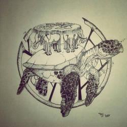 Disque Monde by Fallen-Swallow