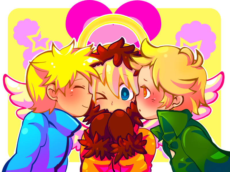 South Park Anime Kenny X Kyle Butters_x_kenny_x_tweek____by_ ...
