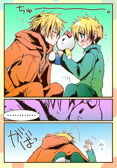 South Park Anime Kenny X Kyle Kenny x butters by alexita2105