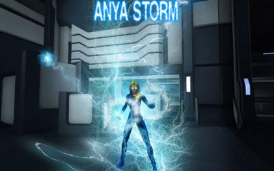 Anya Storm is back, col comics vol 2 teaser